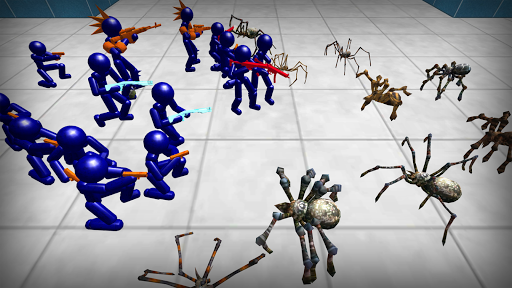 Stickman Spiders Battle Simulator 1.01 screenshots 2