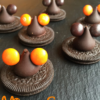 Halloween Mickey Ears Witch Hat Cookies
