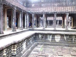 Photo: One of 4 pool inside Angkor Wat