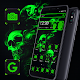 Devil Skull Green Black Theme  Download on Windows