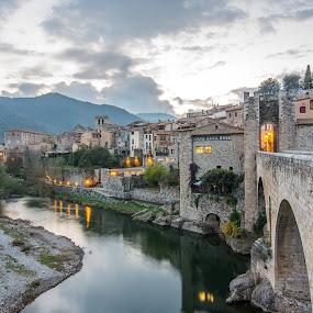 by Gabriela Zandomeni - Buildings & Architecture Bridges & Suspended Structures ( dusk, medieval )