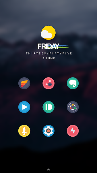 Infinity Android Icon pack v1.01
