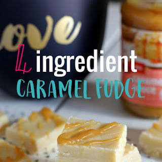 4 Ingredient Easy Caramel Fudge