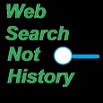 web search not history icon