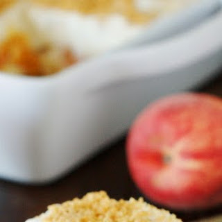 No-Bake Peach Yum Yum (Printable recipe)