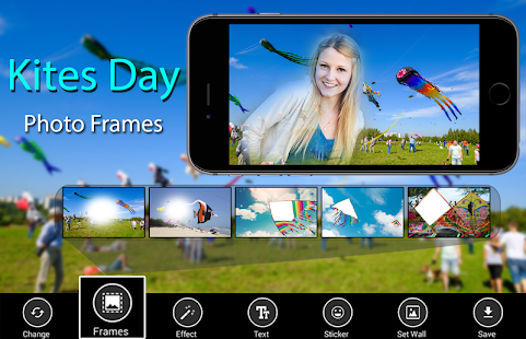 Kites Day Photo Frames - náhled