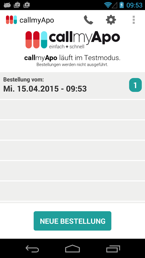 CallMyApo- screenshot