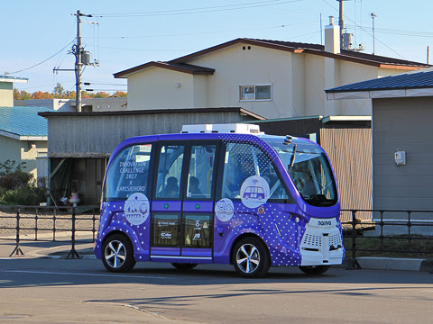 上士幌 自動運転バス実証実験_11