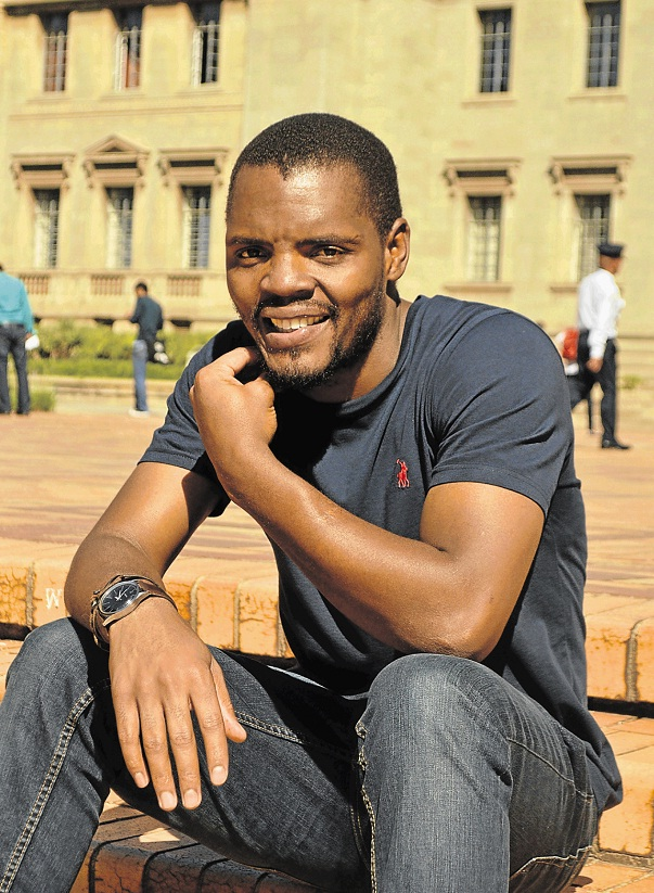 Wits SRC president Mcebo Dlamini recently made remarks praising Nazi leader Adolf Hitler. Picture: SOWETAN