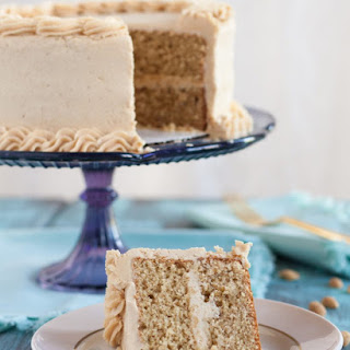 Old Fashioned Peanut Butter Cake