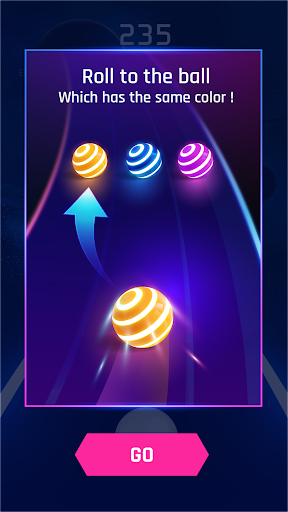 Dancing Road: Colour Ball Run! - screenshot