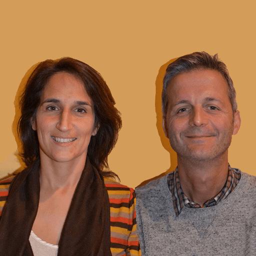 Sylvie et Marc partcipent au marathon du Cognac pour soutenir L'Arche Les Sapins !