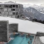 outdoor spa at Mount Rigi in Lucerne, Lucerne, Switzerland