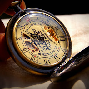 Watch 3 by Ritwick Srivastava - Products & Objects Technology Objects ( sepia, old, clock, chain, watch, analog, antique )