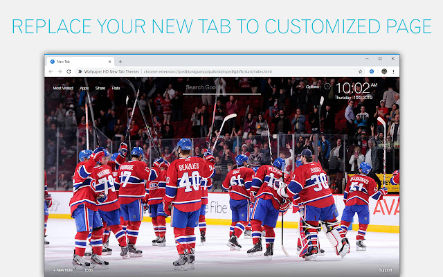 Montreal Canadiens Wallpapers Custom New Tab