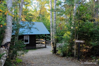 Photo: Cabins at Ricker Pond State Park