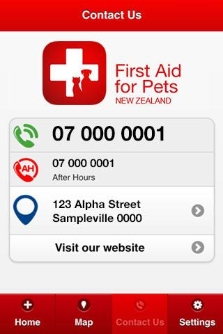 First Aid For Pets New Zealand- screenshot
