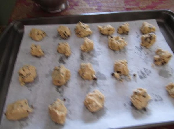 add chips & dry ingredients in makes a heavy doughwill make 6 or 7...