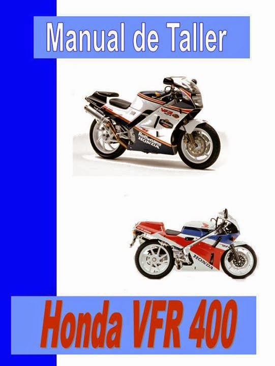 Honda VFR 400 manual taller - despiece