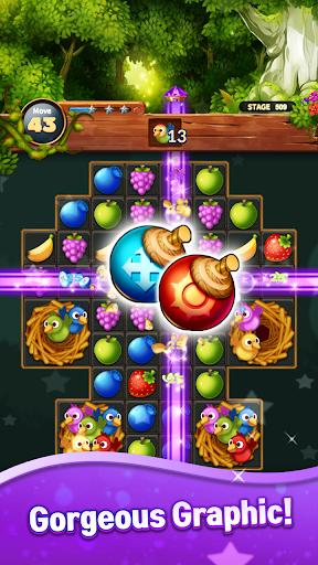 Sweet Fruit POP : Match 3 Puzzle apkmr screenshots 5