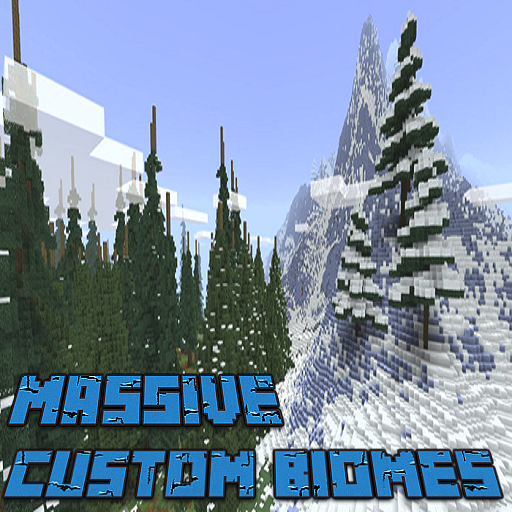 Massive Custom Biomes Map MCPE