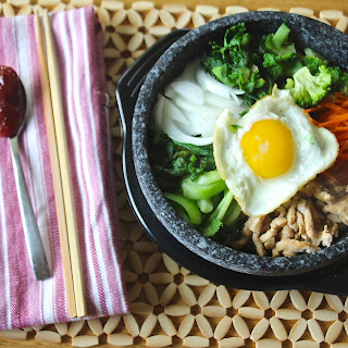 Chicken & Kale Bibimbap