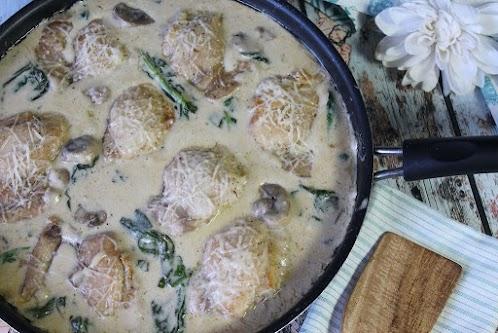 Keto Creamy Chicken