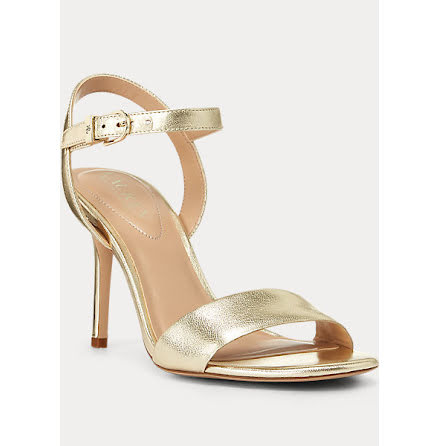 Gwen Sandals, pale gold
