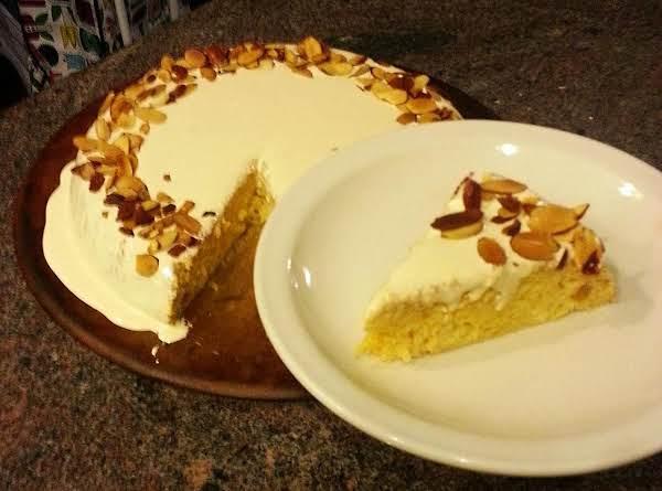 Peachy Keen Skillet Cake Recipe