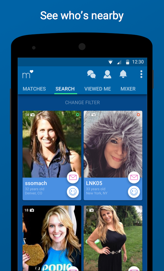 Match Dating -  Meet Singles- screenshot