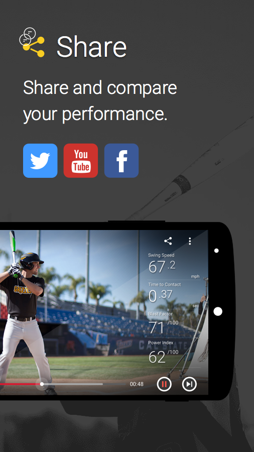 Easton Power Sensor- screenshot
