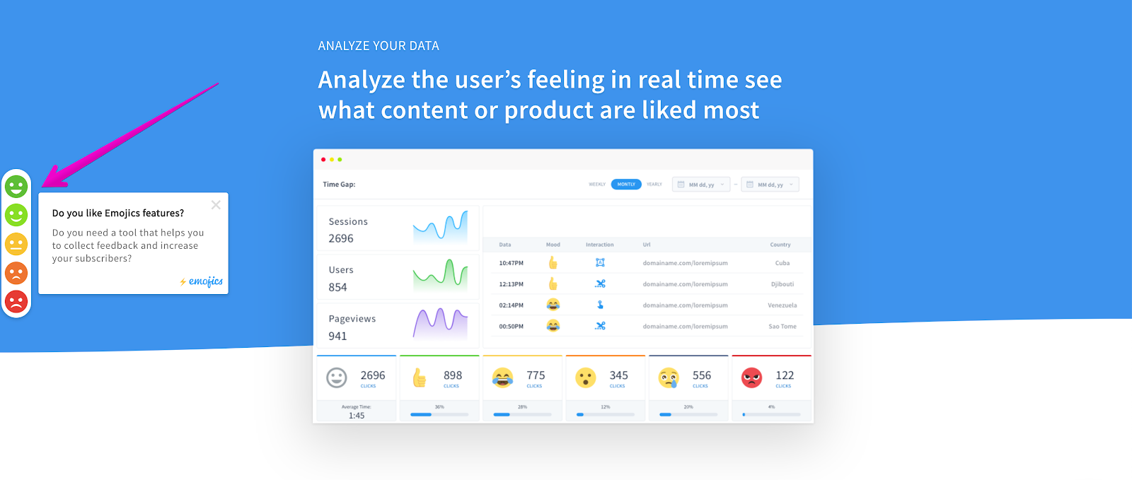 Measure Customer Satisfaction - In-app feedback collection