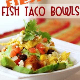 Fiesta Fish Taco Bowls.