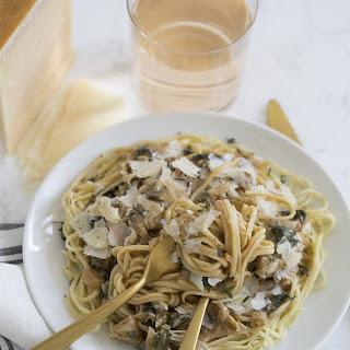 Spinach Artichoke Pasta.