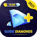 Free Diamonds & coins Easy game guide icon