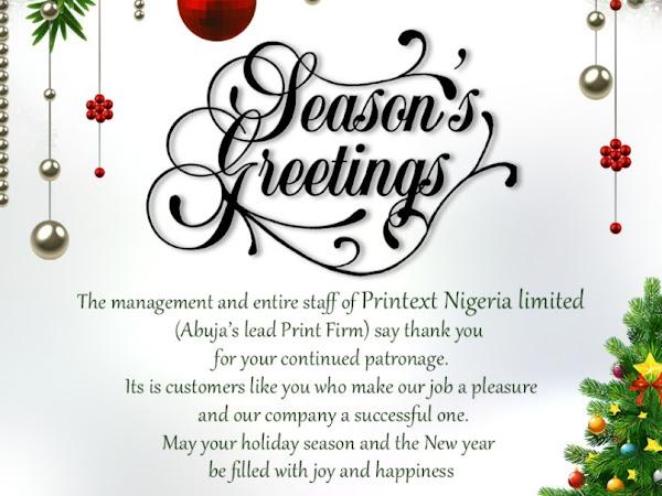 Printext Nigeria Limited Print Graphics Design Invitation