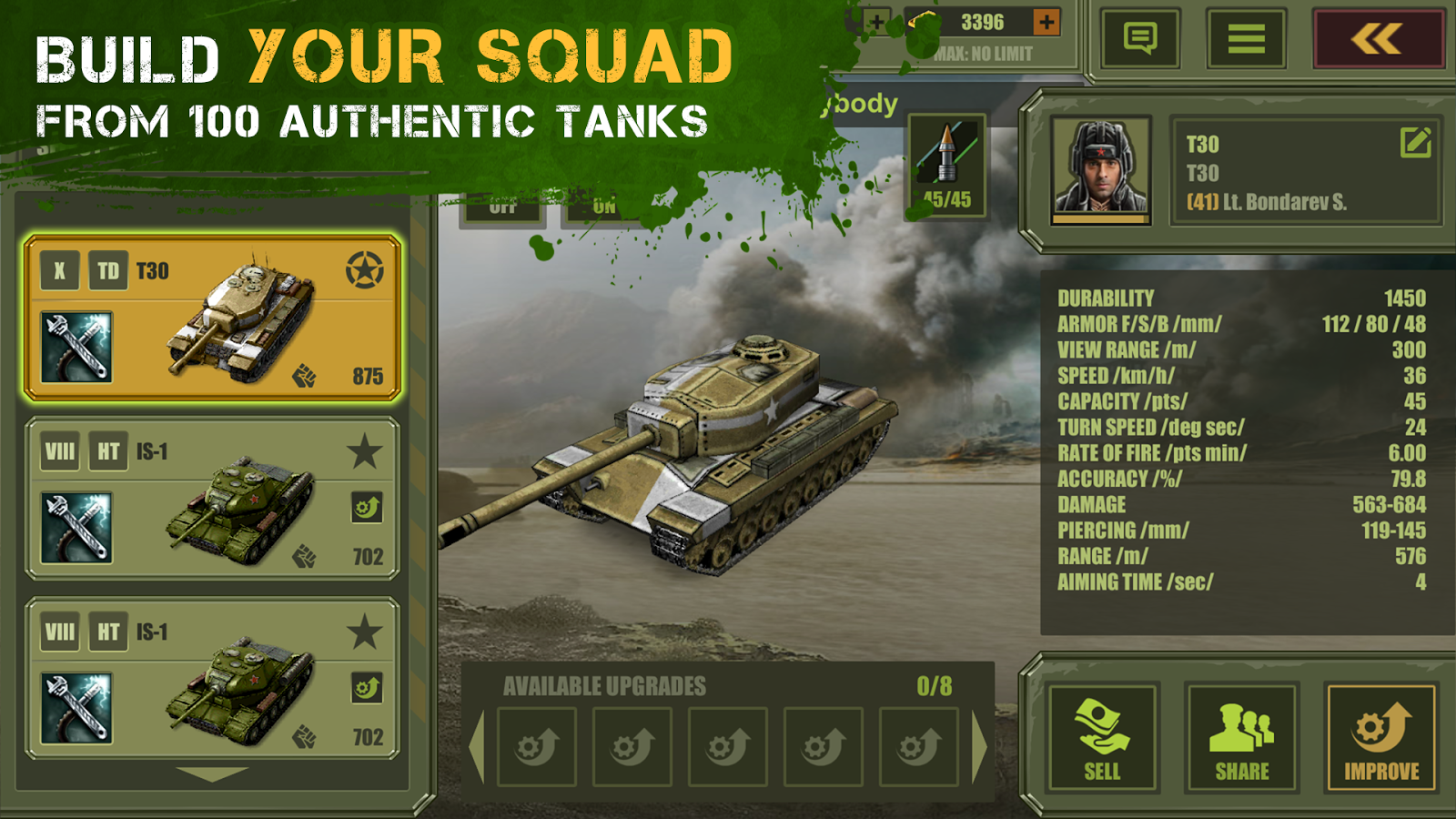 Iron 5: Tanks- screenshot