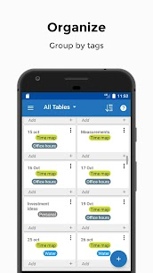 Table Notes – Pocket database & spreadsheet editor Mod Apk Download For Android 4