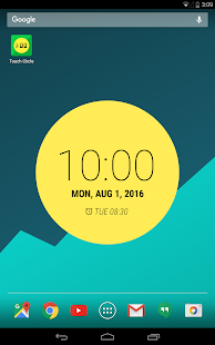 Touch Circle Clock Wallpaper + (Unreleased)- screenshot thumbnail