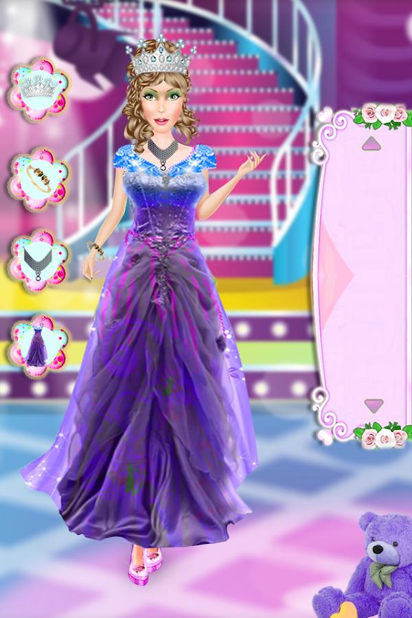 Vistoso Boda De La Princesa Juegos De Vestir Ilustración - Vestido ...