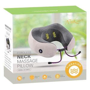 Perna de gat cu masaj, ideala pentru masaj sau pentru calatorii, gri