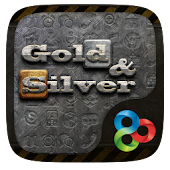 Gold n Silver GO LauncherTheme