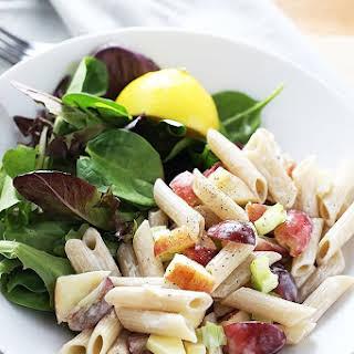 Apple + Grape Pasta Salad.