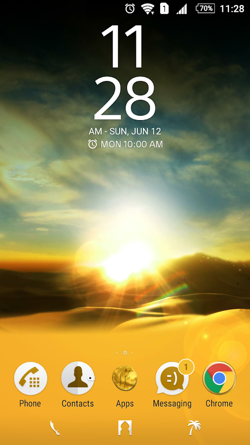 The Journey Theme for Xperia™- screenshot