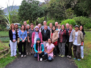 Photo: group picture with some of Fern Resort's Karen hilltribe staff