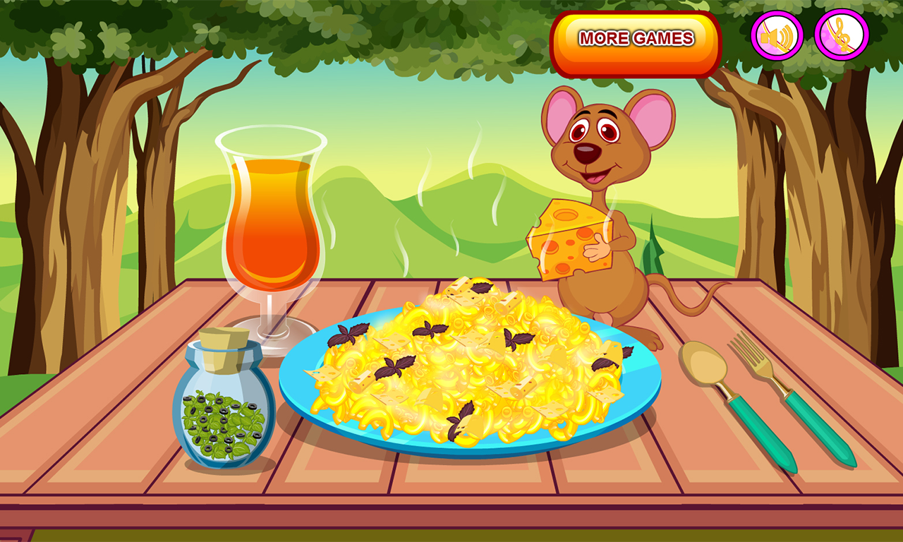 Cook homemade mac and cheese- screenshot