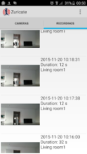 Zuricate Video Surveillance screenshot 1