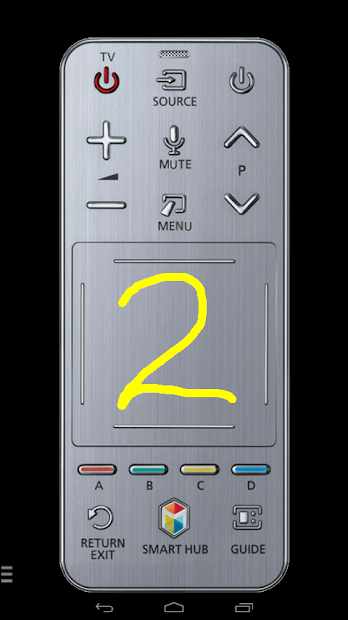 TV (Samsung) Smart Remote (w touchpad & keyboard) on Google