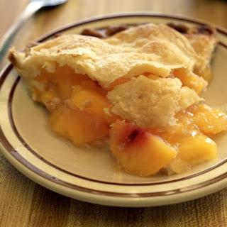 Vegan Peach Pie