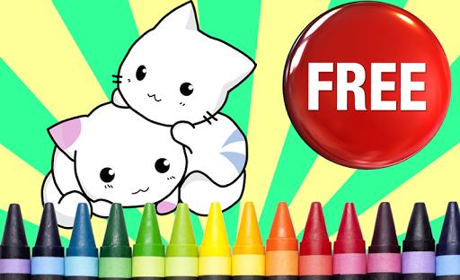 無料解谜Appの塗り絵の猫|記事Game